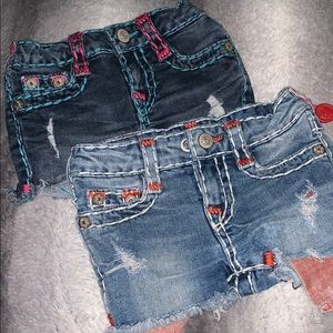 Toddler True Religion shorts